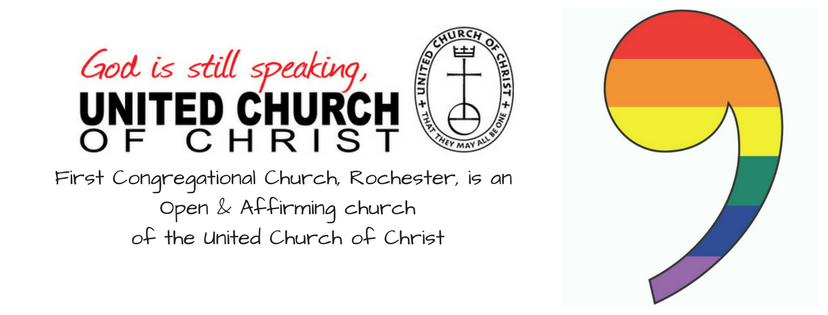 First Congregational Church, Rochester, is a local church of the United Church of Christ (1).png